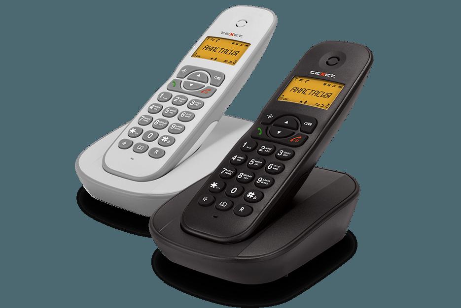 Радиотелефон беспроводной Texet TX-D4505A, фото 1