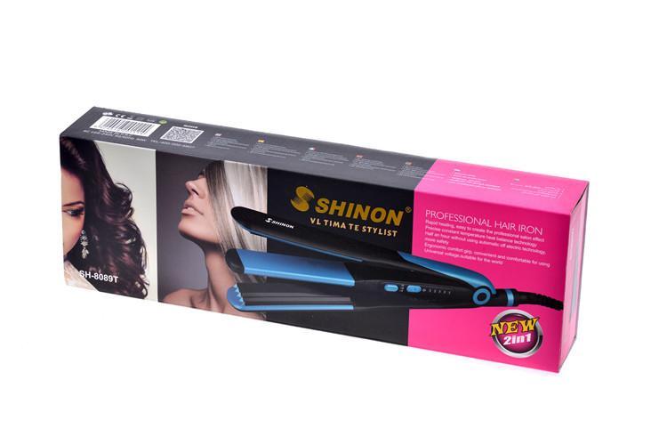 Стайлер для волос 2 в 1 SH-8089T, фото 1