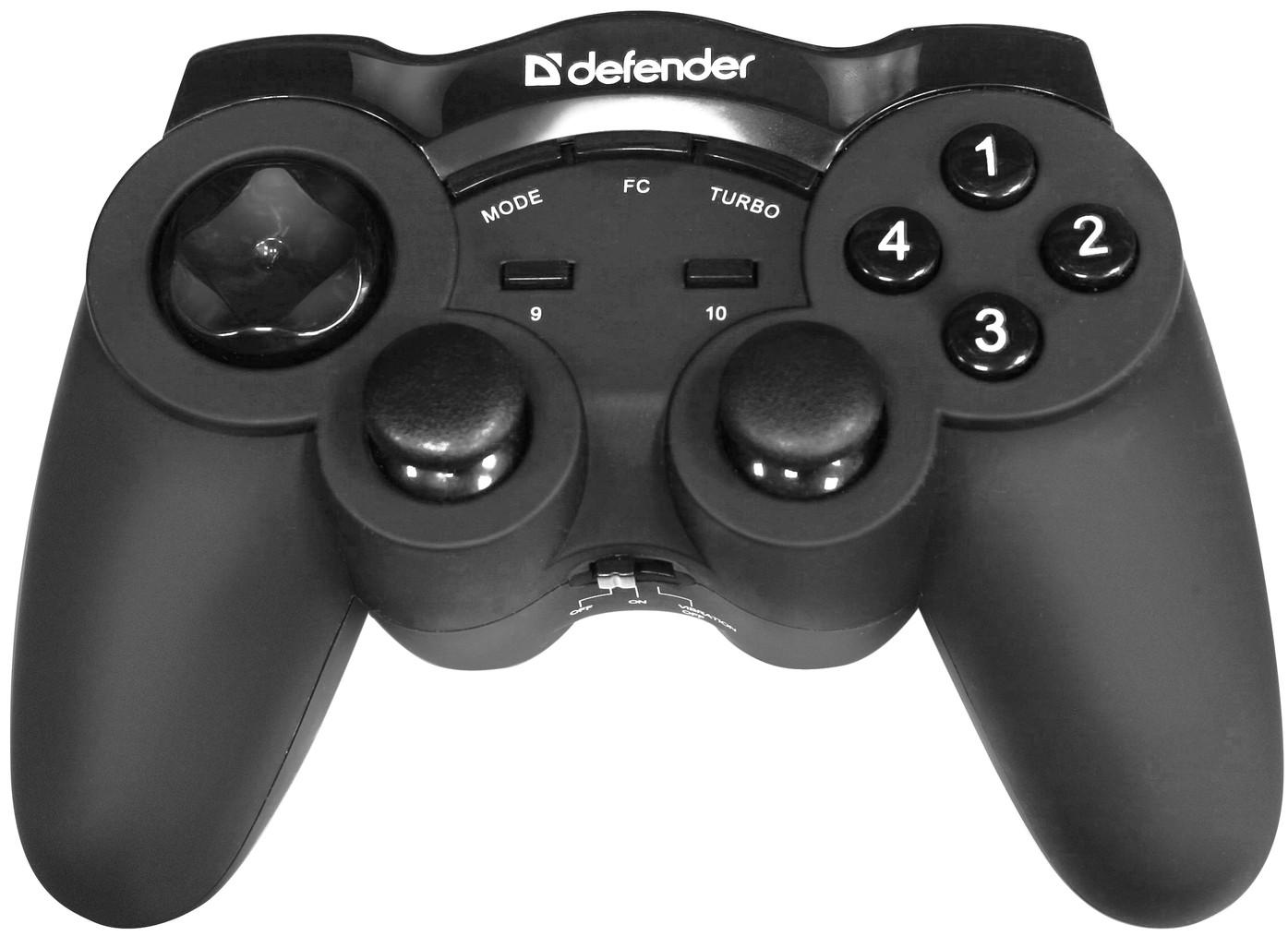 Геймпад беспроводной Defender Game Racer Wireless G2 USB, фото 1