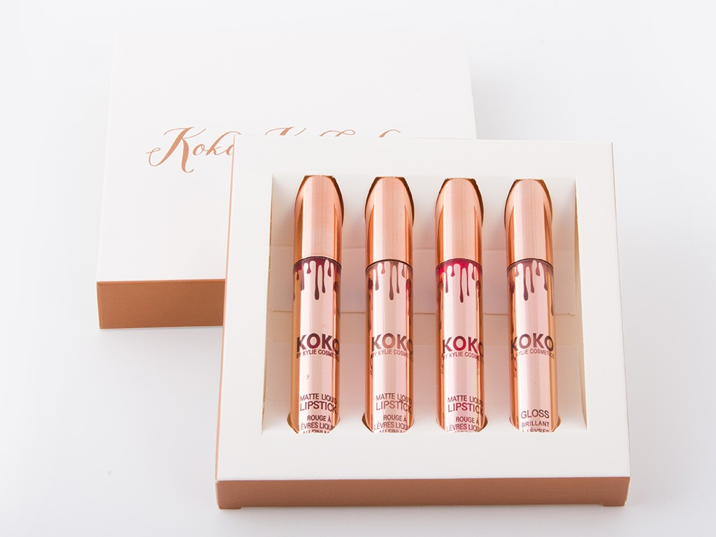 Набор помад Kylie Cosmetics Koko Kollection, фото 1