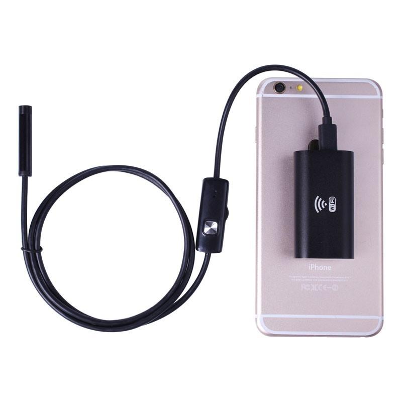 Водонепроницаемая камера WI-FI, USB эндоскоп, бароскоп для всех операционных систем, фото 1