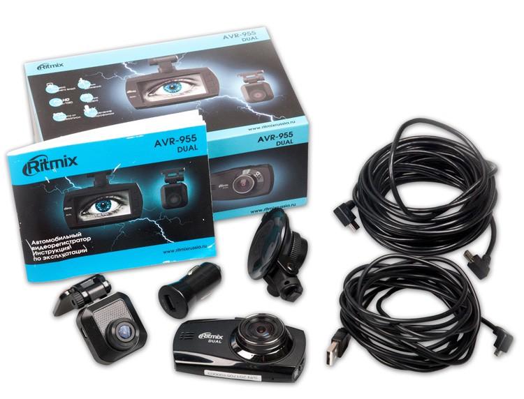 Видеорегистратор RITMIX AVR-955 + камера заднего вида, фото 1