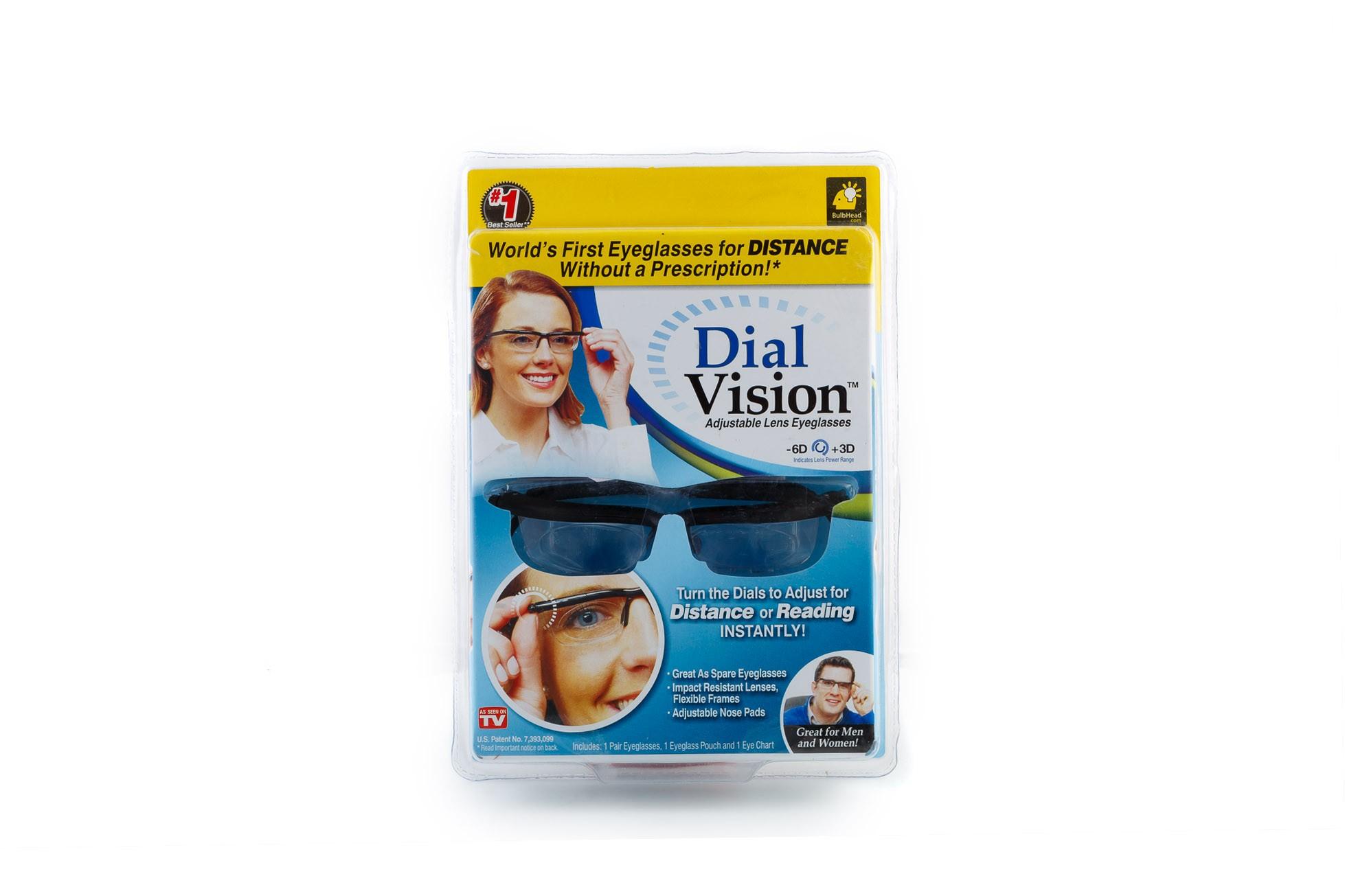 """Очки с регулировкой линз """"Dual Vision"""", фото 1"""