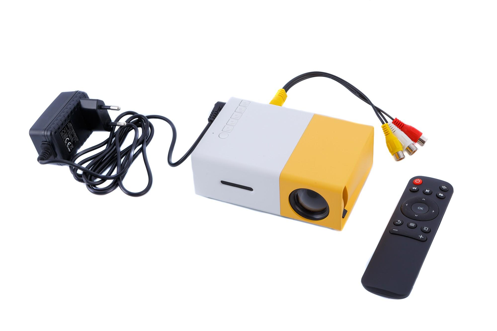 Проектор Led YG300 мультимедийный с динамиком, фото 2