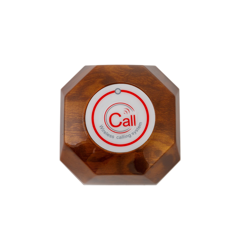 Беспроводная кнопка вызова YK500-1K-B, фото 1