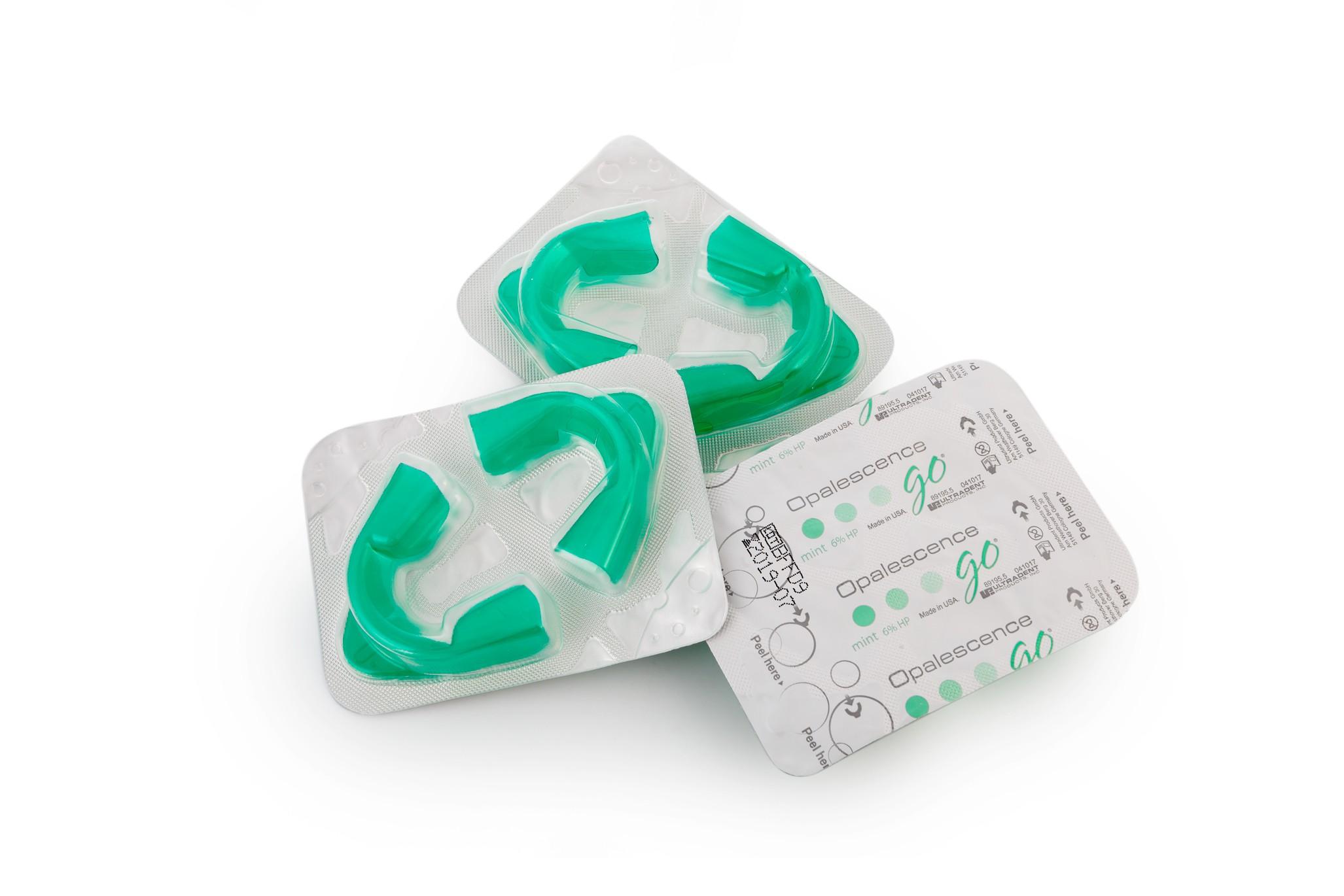 Отбеливающие капы OpalEcsence GO 6% 10 штук в упаковке, фото 2