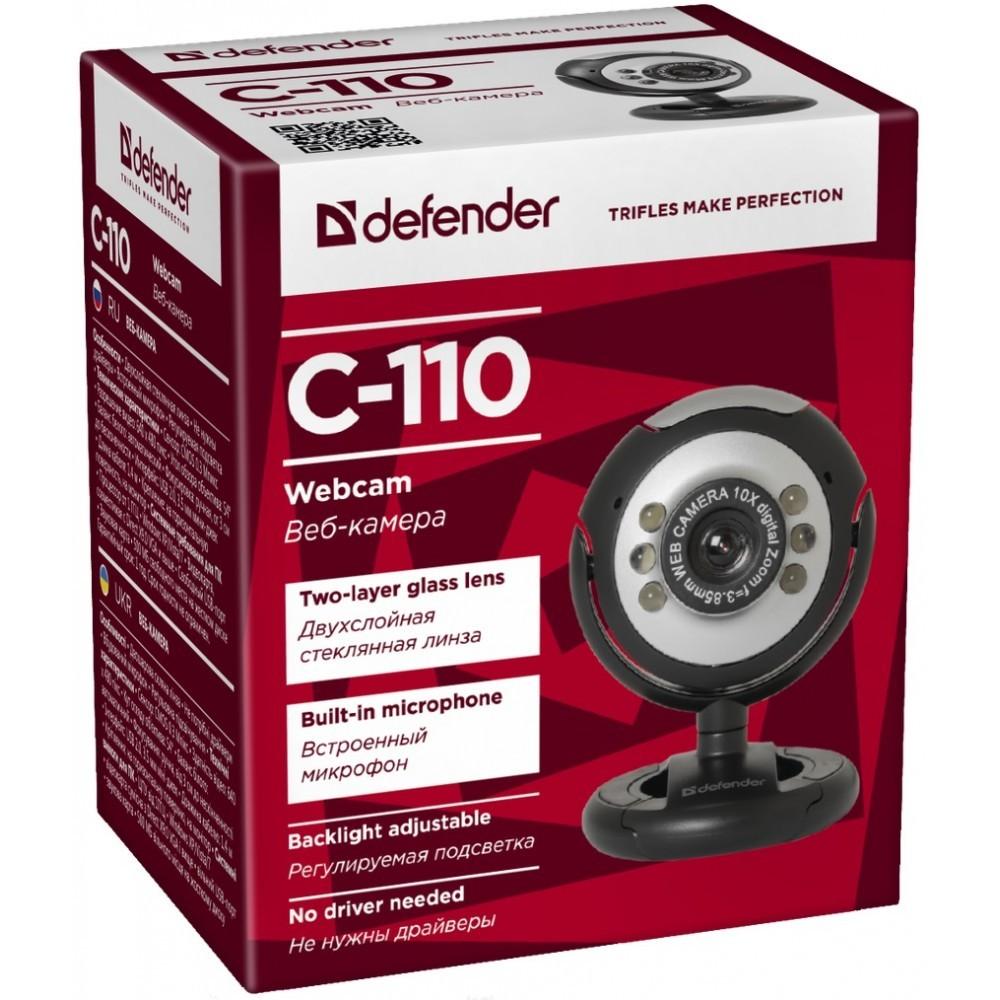 Веб камера Defender C-110 0.3 МП, фото 2