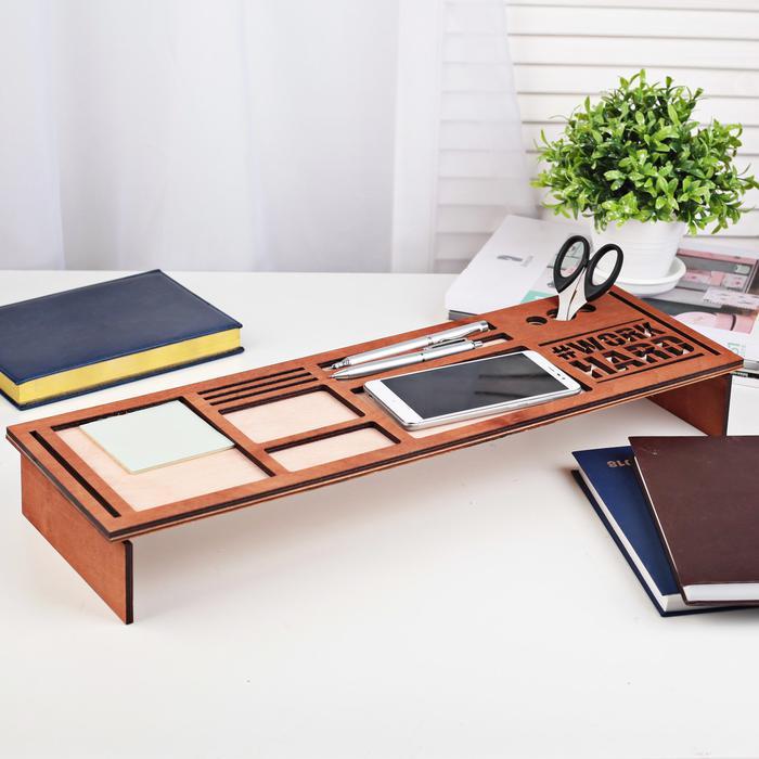 Органайзер для клавиатуры деревянный, фото 6