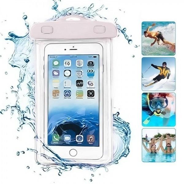 Чехол водонепроницаемый светящийся для мобильных телефонов, фото 1