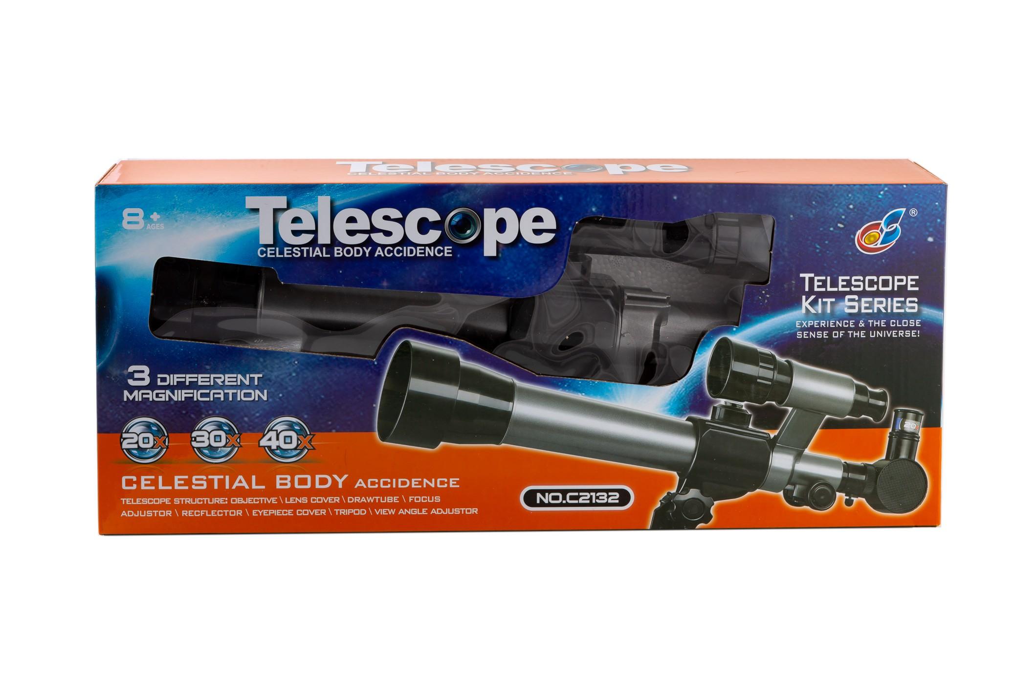 Детский пластиковый телескоп C2132, фото 1