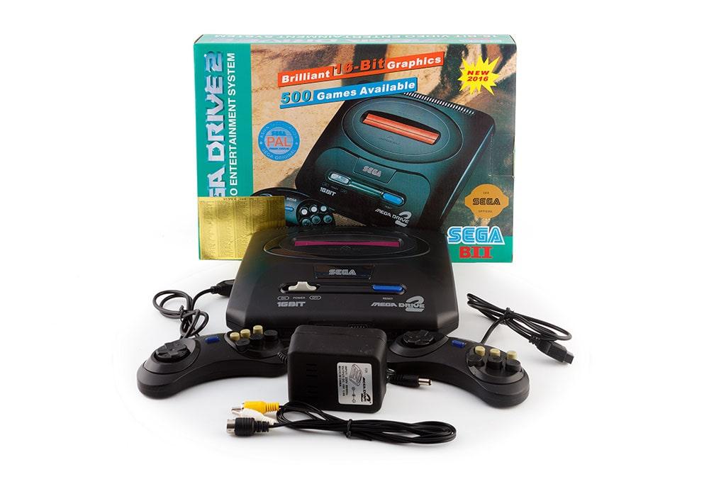 Игровая приставка  Sega Mega Drive 2+ Подарок кассета Mortal Kombat, фото 1