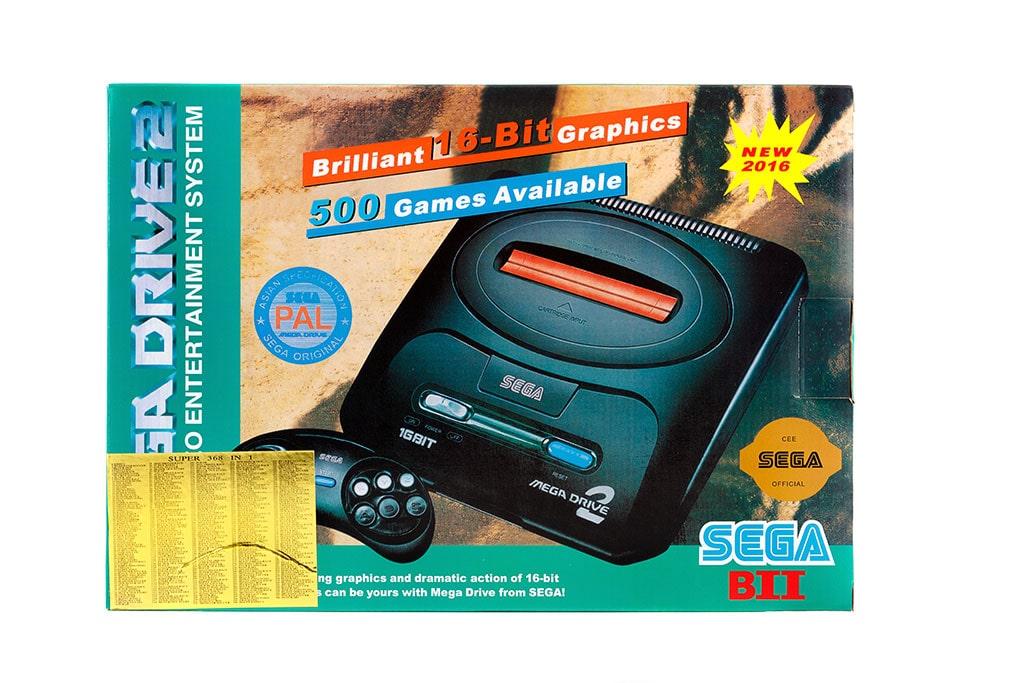 Игровая приставка  Sega Mega Drive 2+ Подарок кассета Mortal Kombat, фото 2