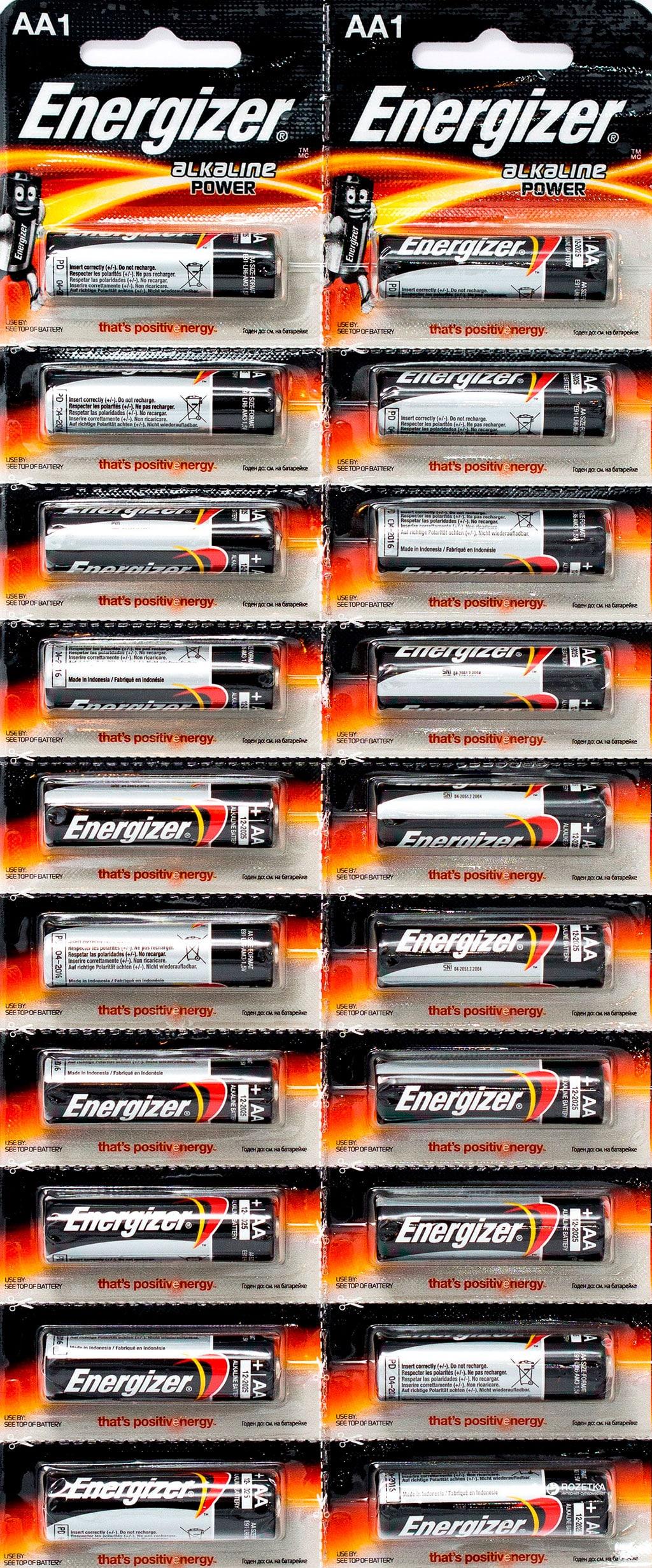 Батарейки Energizer Power Alkaline AA, фото 2