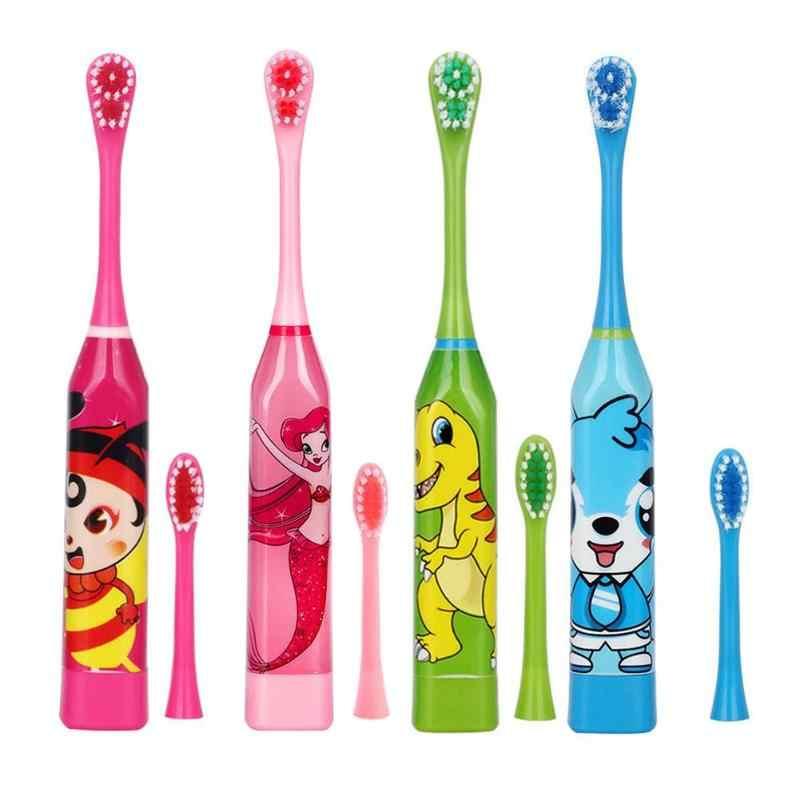 Детская электрическая зубная щетка с запаской, фото 1