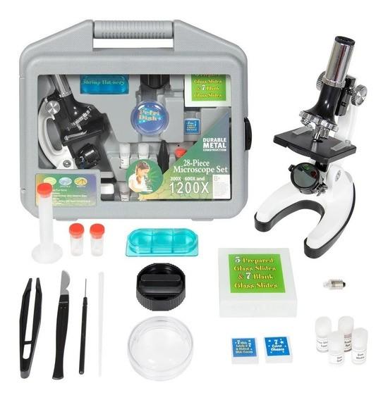 Микроскоп детский в кейсе 1200х, фото 1