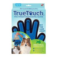 Массажная перчатка True Touch для ухода за шерстью, фото 1