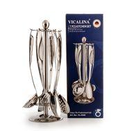 Набор из 6 кухонных предметов на металлической подставке VICALLINA, фото 1