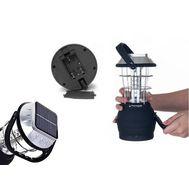 Портативный светодиодный туристический фонарь LS-360 на солнечной батарее, фото 1