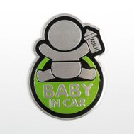 Наклейка декоративная на автомобиль «Baby in car», фото 1