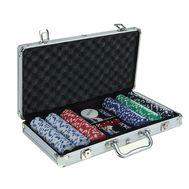 Покер в металлическом кейсе на 300 фишек, фото 1