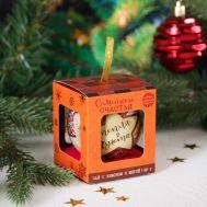 Чай чёрный в ёлочном шаре 20 г «Семейного счастья» с лимоном и мятой, фото 1