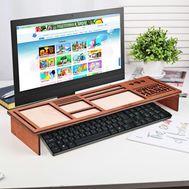 Органайзер для клавиатуры деревянный, фото 1
