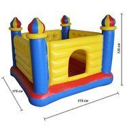 Надувной игровой центр - батут «Замок» Intex 48259, фото 1