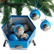 """Новогодние шары в подарочной коробке """"Обнимашки"""", фото 1"""