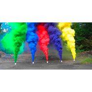 Цветной дым набор из 5 штук, фото 1