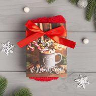 Носки женские махровые «Чудес в Новом году» в открытке, фото 1
