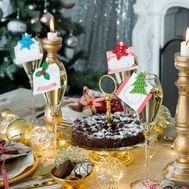 Декор столовый «Новогодний» на прищепке, фото 1