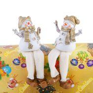 Новогодняя фигурка «Парочка снеговиков», фото 1
