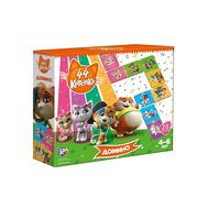 Настольная детская игра 44 Котёнка «Домино» 28 деталей, фото 1