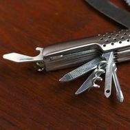 Нож  11 в 1 рукоять перфорированная, фото 1
