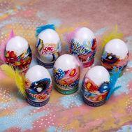Пасхальный набор для украшения яиц «Пёрышки», фото 1