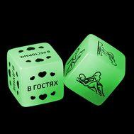 Кубики эротические неоновые «50 оттенков страсти», фото 1