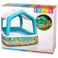 Детский надувной бассейн с навесом Intex 57470, фото 1
