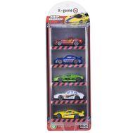 Набор гоночных машинок X-Game 5 штук, фото 1
