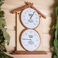 """Термометр- гигрометр для бани """"Домик"""", фото 1"""