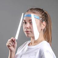Защитный экран для лица повышенной прозрачности, 20×31, фото 1