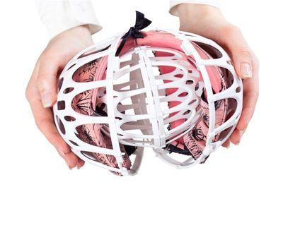 Контейнер для бережной стирки бюстгальтеров Bubble Bra, фото 1