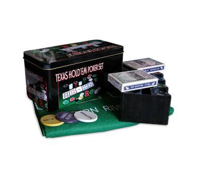 Набор для покера TEXAS HOLD`EM, фото 1