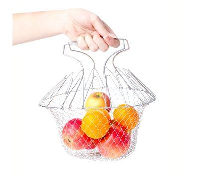 Складная решетка для приготовления пищи Chef Basket, фото 2