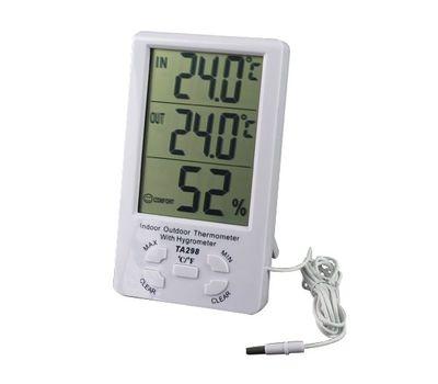 Термометр-гигрометр TA-298, фото 1