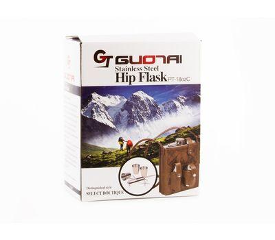 Подарочный набор Hip Flask 510 мл (Фляжка, стопка, нож), фото 1