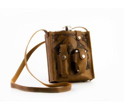 Подарочный набор Hip Flask 510 мл (Фляжка, стопка, нож), фото 3