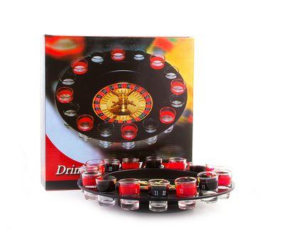 Алкогольная (пьяная) рулетка - настольная игра для взрослых, фото 1