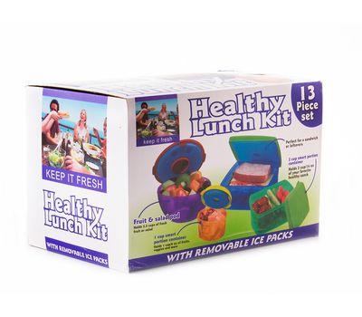 <label itemprop='name'>Контейнеры с охлаждающим элементом Healthy Lunch Kit</label>, фото 1