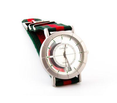 Часы наручные на тканевом ремешке , фото 1