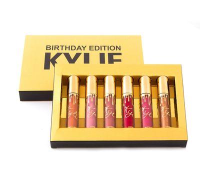 Коллекция матовых жидких помад Kylie Birthday Edition, фото 1